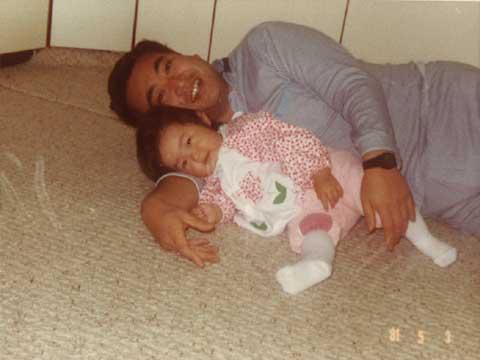 1981年 舵 娘8ヶ月